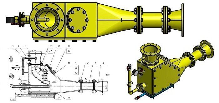 Пневматичний струменевий насос НС-15