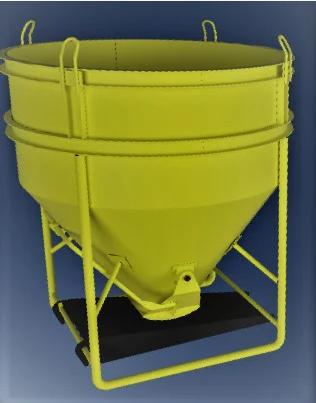 Бункер бетонной массы типа «Рюмка» ББМ — 1,0