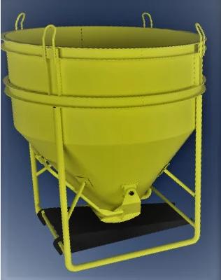 Бункер бетонной массы типа «Рюмка» ББМ — 2,0