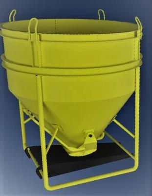 Бункеры бетонной массы типа «Рюмка» ББМ — 1,5
