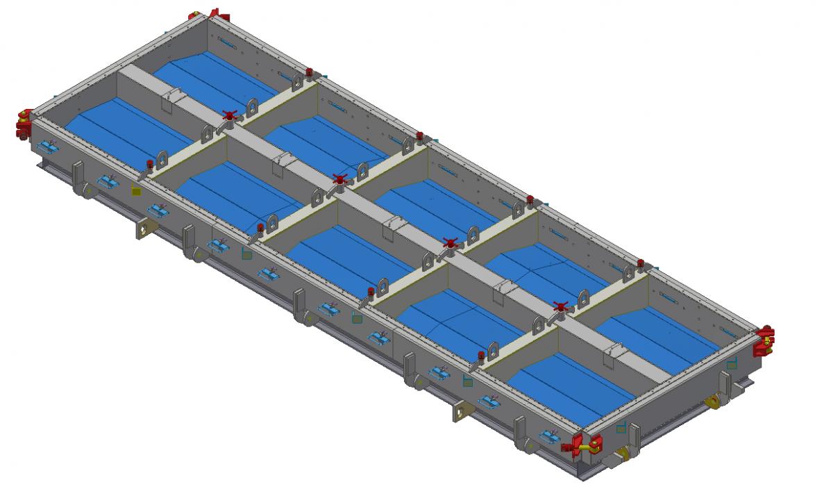 Форма блока бетонного Б-1-20-75